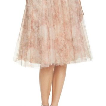 Jenny Yoo 'Lucy' Print Tulle Skirt | Nordstrom