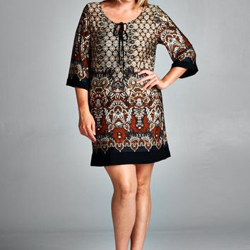 Cleopatra Tunic Dress - MMB Famous Collection