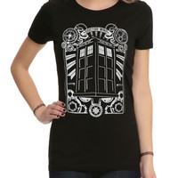 Doctor Who TARDIS St. John Ambulance Girls T-Shirt