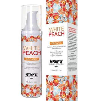Exsens of Paris Organic Massage Oil - White Peach