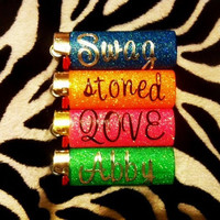 Customized Glitter Lighter
