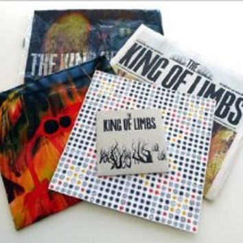 "The King Of Limbs- Newspaper Edition (10"" clear vinyl w/ CD and extras)"