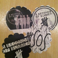 5 seconds of summer stickers