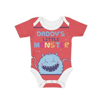 Infant Daddys Lil Monster Onesuit