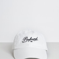 NY Club Strap-Back Hat in White