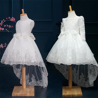 "The ""Eve"" Lace Flower Girl Dress"