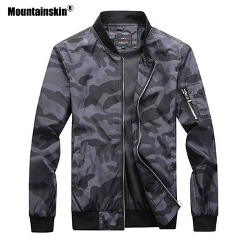 Trendy Mountainskin 2018 New Men's Camouflage Jackets Male Coats Camo Bomber Jacket Mens Brand Clothing Outwear Plus Size M-7XL SA527 AT_94_13