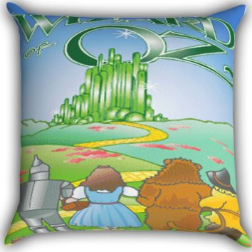 the wizard of oz Zippered Pillows  Covers 16x16, 18x18, 20x20 Inches