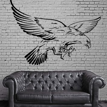 Flying Eagle Wings American Symbol Decor Wall Mural Vinyl Art Decal Sticker Unique Gift M481