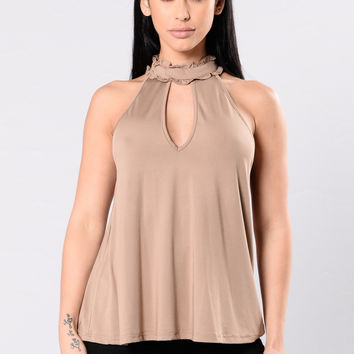 Day Dreams Top - Mocha