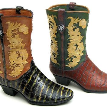 Cowboy Boot Bank Assorted