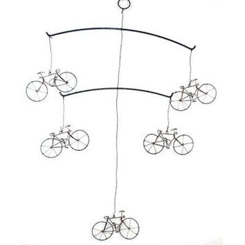 Handmade Wire Bicycle Mobile - Creative Alternatives