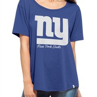 New York Giants Boyfriend WomensTshirt | SportyThreads.com