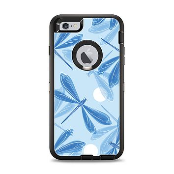 The Blue DragonFly Apple iPhone 6 Plus Otterbox Defender Case Skin Set