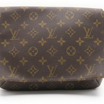 Louis Vuitton Monogram Musette Tango Shoulder Bag Brown M51257 1773