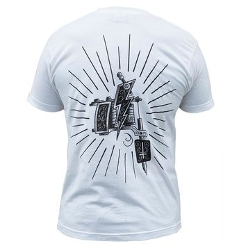 Mens Tattoo Machine Tee