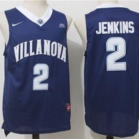 ONETOW Best Sale Online NCAA University Basketball Jersey Villanova Wildcats # 2 Kris Jenkins