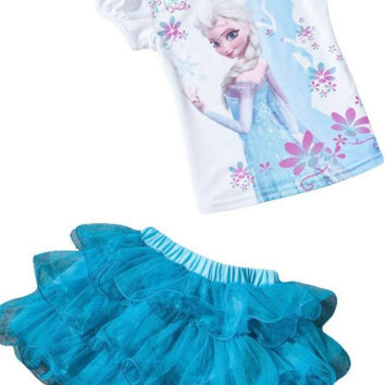 Disney Frozen Elsa Tutu Dress