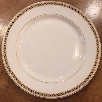 Antique Syracuse O.P.CO China - Restaurantware China 9.5 Dinner Plate 1910 USA