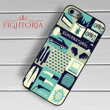 Supernatural Art Collage - zFzF for  iPhone 6S case, iPhone 5s case, iPhone 6 case, iPhone 4S, Samsung S6 Edge