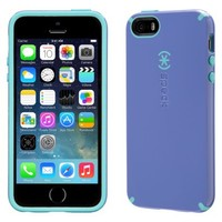 Speck CandyShell Cell Phone Case for iPhone 5/5s - Blue/Purple (SPK-A2680)