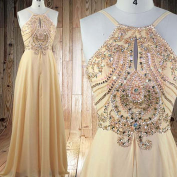 Long beading Prom dress sexy Party Dress Long  Bridesmaid Dresses Long Prom Dresses party dress,formal dress
