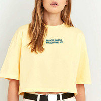 Lupe Nancy Cropped T-Shirt - Urban Outfitters