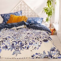 Henley Folk Suzani Duvet Cover - Urban Outfitters