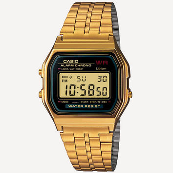 Casio Vintage Collection A159 Watch Gold One Size For Men 24815762101