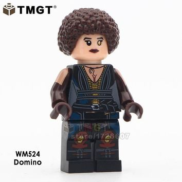 Deadpool Dead pool Taco TMGT Building Blocks Single Sale  2 Movie Version Super Heroes Cable Peter Domino Action Figures Collect Children Gifts AT_70_6