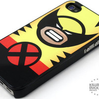 Wolverine iPhone 4 iPhone 4s Case by killerduckdecals on Etsy
