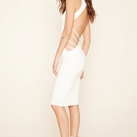 Strappy Cutout Bodycon Dress