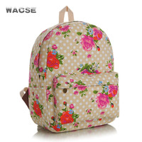 Casual Stylish Fashion Thicken Canvas Backpack = 4887512836