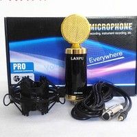 computer sound record microphone capacitance microphone wired microphone online