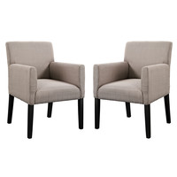 Chloe Armchair Set of 2 by Modway Furniture