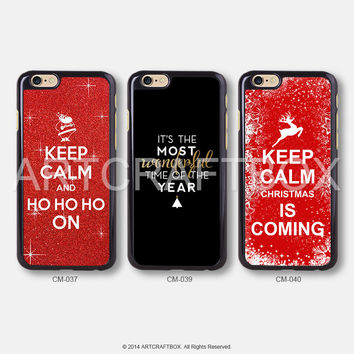 Keep Calm Christmas iPhone 6 case iPhone 6 Plus case iPhone 5S case iPhone 5C case CM-037