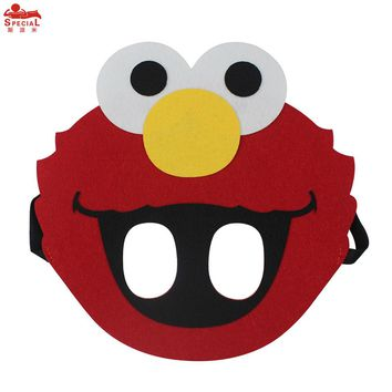Special baby boy costume elmo mask Cartoon Cos-play Face Mask anime girls Minions character party toy baby dance costumes