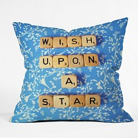 Happee Monkee Wish Upon A Star 1 Throw Pillow