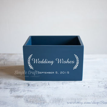 Wedding wishes cards box rustic wedding invitation advice for new parents bridal shower invitations wedding advice box wedding advice cards