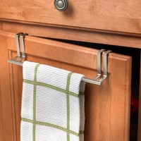 Spectrum Diversified 76471 Over Door Towel Holder, Brushed Nickel