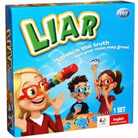 Liar Board Game Stretch the Truth and Your Nuse May Grow Party Family Puzzle Game For Children Send English Instructions
