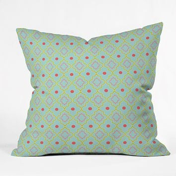 Caroline Okun Palm Beach Throw Pillow