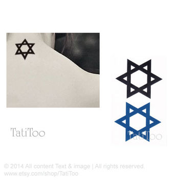 Star - Temporary Tattoo T037