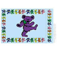 Grateful Dead - Dancing Bear Pillow Case on Sale for $14.99 at HippieShop.com