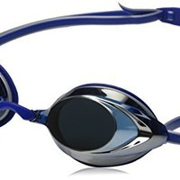 Speedo Vanquisher 2.0 Mirrored Swim Goggle, Silver/Blue
