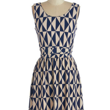 ModCloth Mid-length Sleeveless A-line Sit for a Spellbound Dress