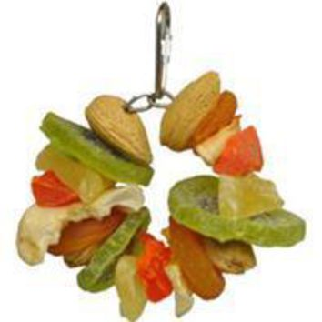 A&e Cage Company-Hbtropical Delight-Deluxe Fruit & Nut Ring
