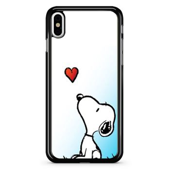 Snoopy Love iPhone X Case