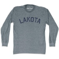 Lakota City Vintage Long-Sleeve T-shirt