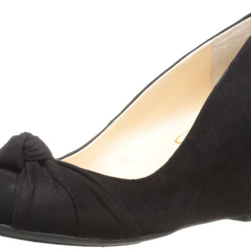 Jessica Simpson Women's Siennah Wedge Pump Black 6.5 B(M) US '